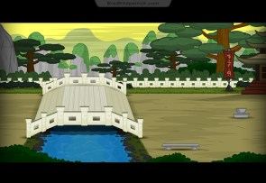 Asian-Bridge-Ninja-Adventure-Game-Landscape-Background-Design-001