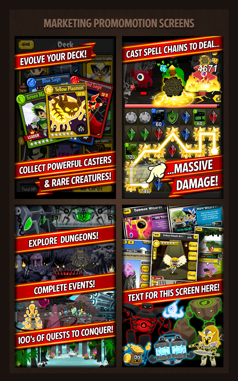 Crystal-Casters-Mobile-Game-Promo-Board-Screens