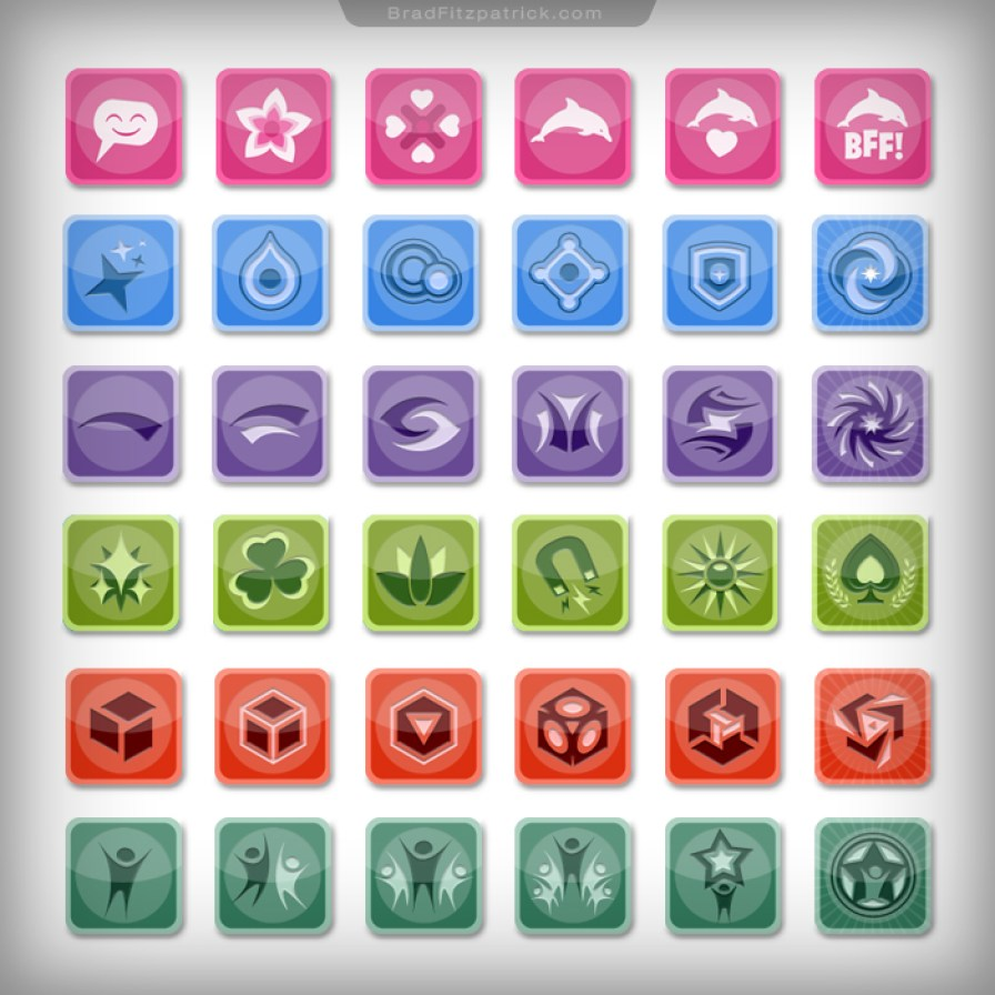 Dolphin-Paradise-Game-Badge-Design-01