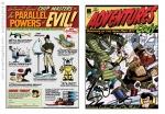 Digital Illustration of a Retro Comic Book for Etnus