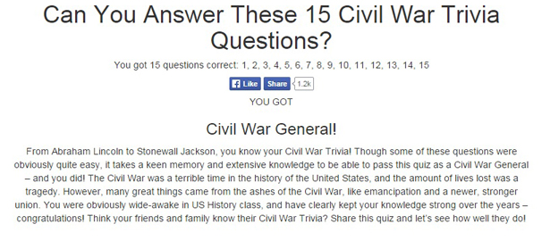 civil war quiz