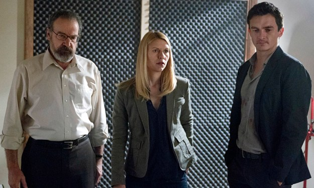 Saul, Carrie and Quinn, the Hamlet of professional assassins.