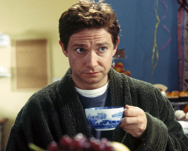 Arthur Dent, yearning for a true cuppa...