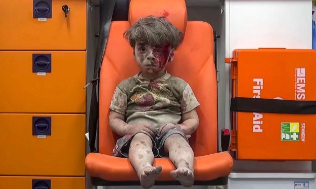 This, Gary, is Aleppo. For starters...