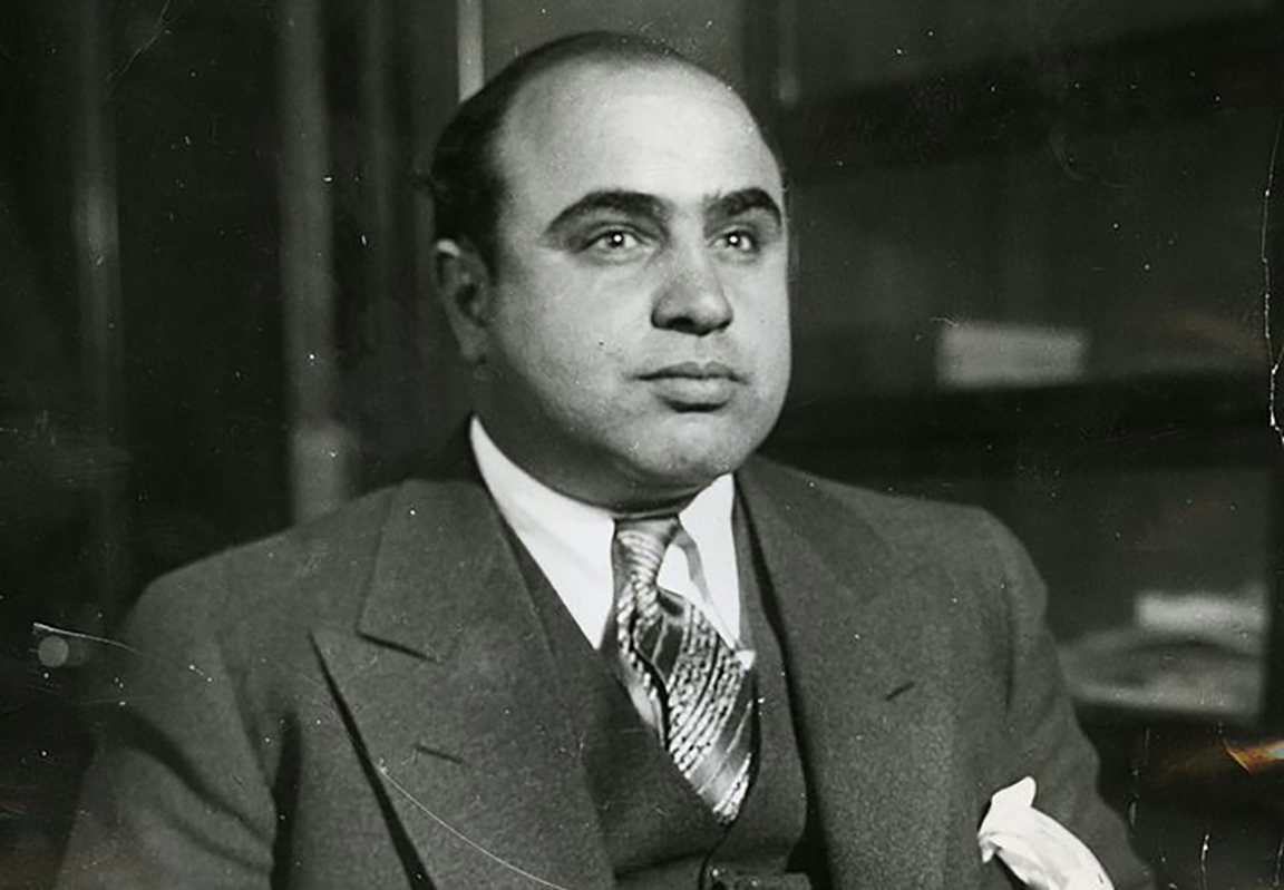 books com capone following his arrest on a vagrancy charge in 1930