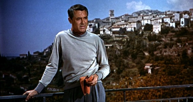 Grant's character had the good sense to retire to a place with a view.