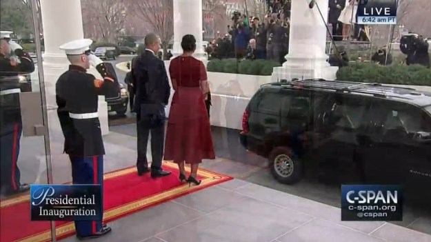 The saddest thing I saw this morning was United States Marines saluting as Trump arrived at the White House. All these years they kept their honor clean. Now this...