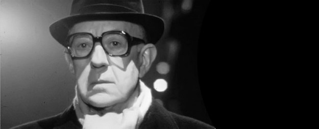 Alex Guinness as George Smiley.