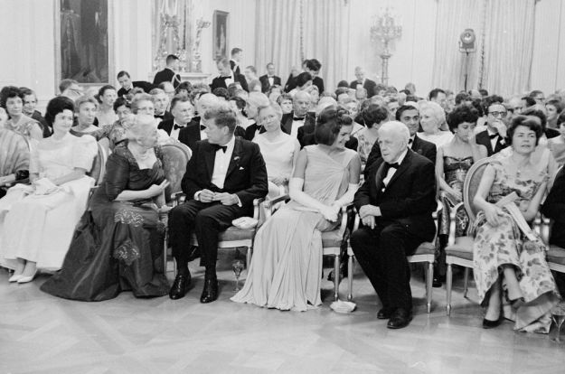 Dinner for Nobel laureates, 29 April 1962.