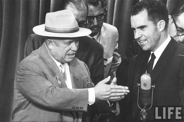 Add Khrushchev and Nixon to the list of people who were NOT in the Trump Jr. meeting...