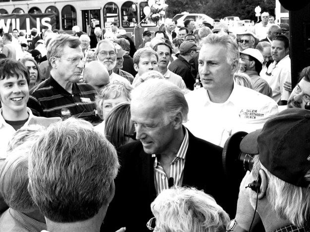Biden at the Galivants Ferry Stump Meeting in 2006.