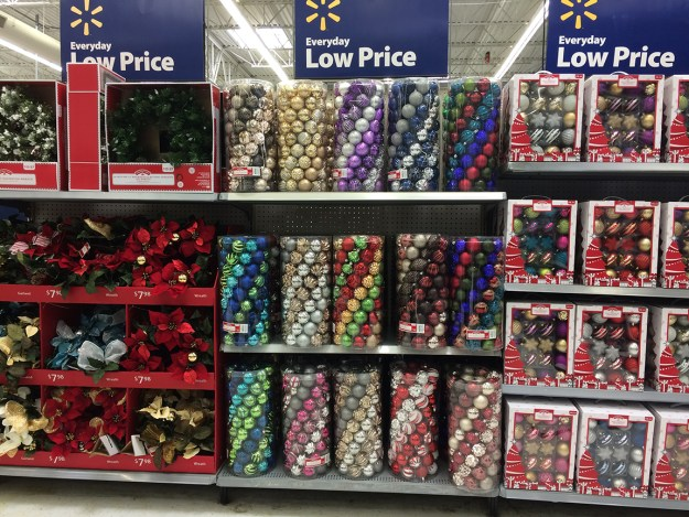Oh, and another thing: I forgot to share myoutrage at a local Walmart being full of Christmas stuff, way back on Oct. 7.