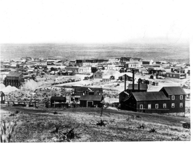 This photo of Tombstone in about 1881 was taken by C. S. Fly. The famous gunfight occurred next to his studio, rather than at the O.K. Corral.