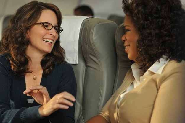 Liz Lemon hallucinating about Oprah.