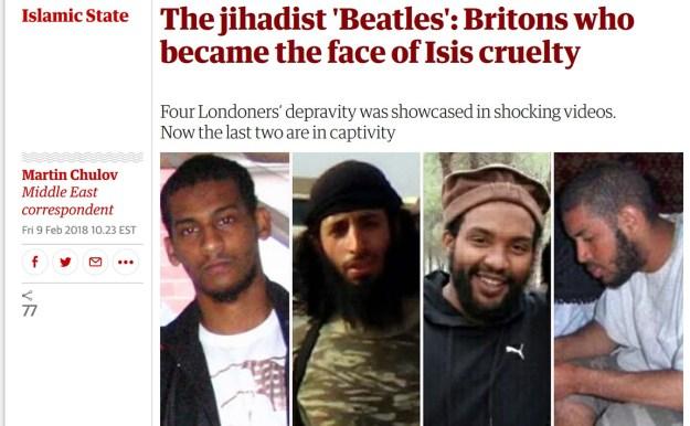 jihadi beatles