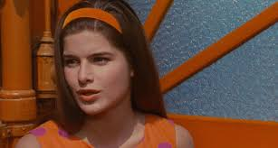 Madeleine -- not only was there character in her face, but she had a sort of Katharine Ross thing going on...