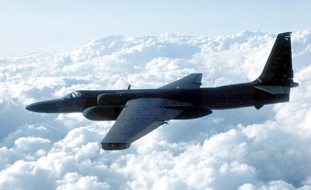 This was the best pic I could find of a U-2. Unfortunately, it doesn't really show you how weirdly shaped the aircraft is...
