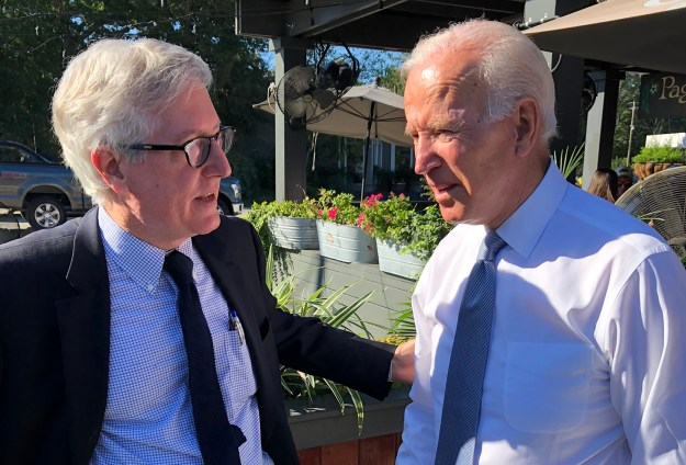 Here's what I think, Joe: You should take off until at LEAST Labor Day. OK?
