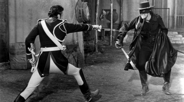 The Zorro I remember best -- Guy Williams, the Disney version...