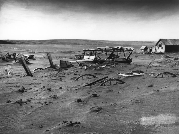 I can do without another Dust Bowl.