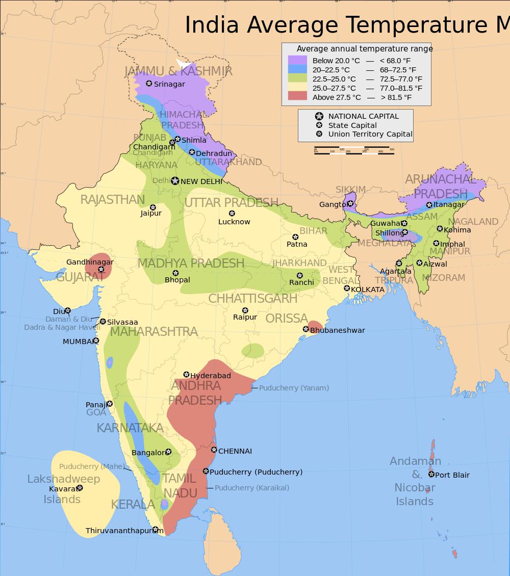 Different Types Of Maps Of India Bragitoff Com