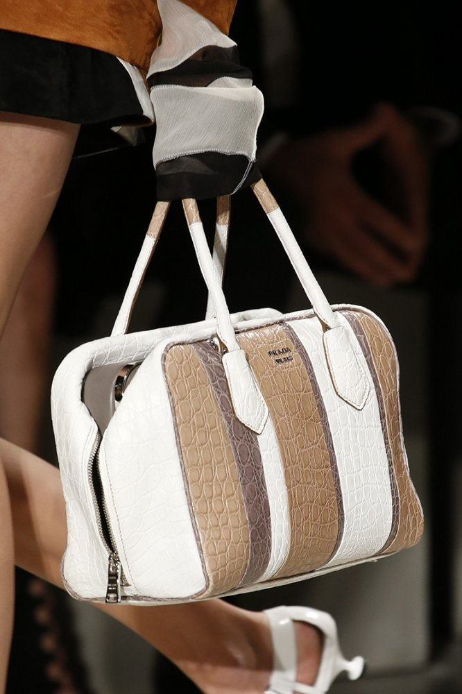Prada Spring Summer 2016 Runway Bag Collection Featuring ...