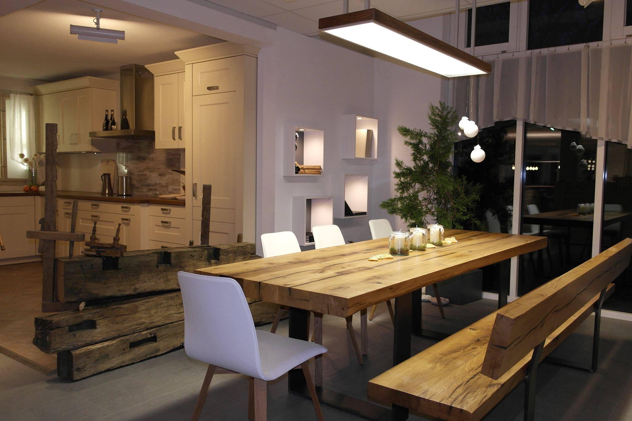 Schreinerei braig in allmendingen bei ulm for Table salle a manger en bois massif