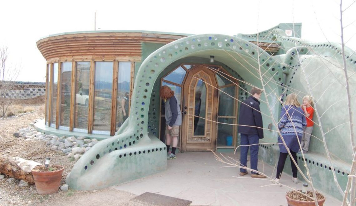 Rent a room at the environmentally friendly buildings earthship