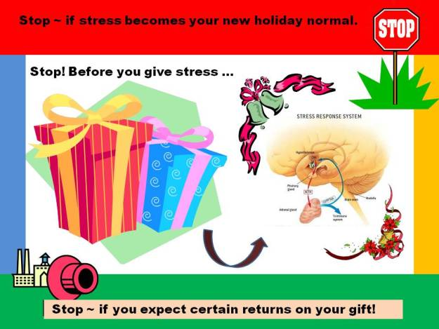 STOP - before you Give Stress
