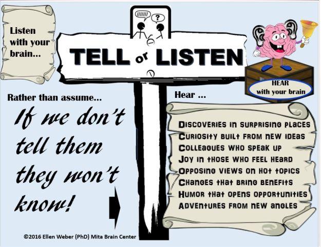 Listen to wider views