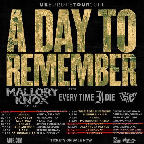 ADTR european tour