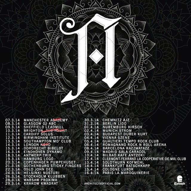 architects european tour