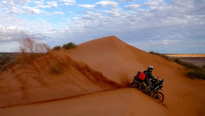 The Simpson Desert, Australia.