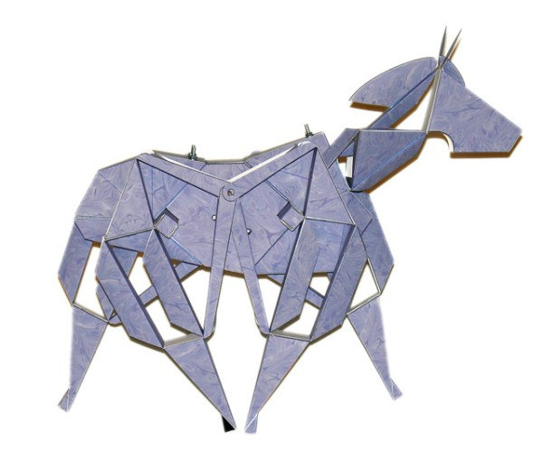 Kinetic Paper horse
