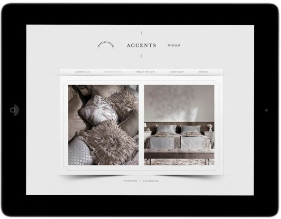Accents Decoration brand design 12