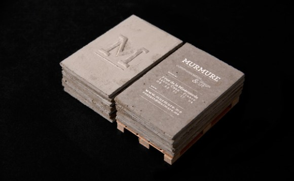 Concrete business card design 22
