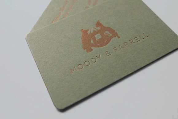 letterpress  Business card design 08