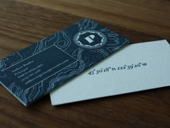 letterpress  Business card design 12