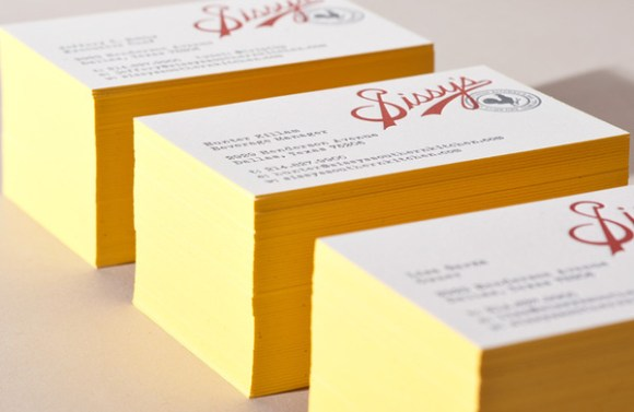letterpress  Business card design 15