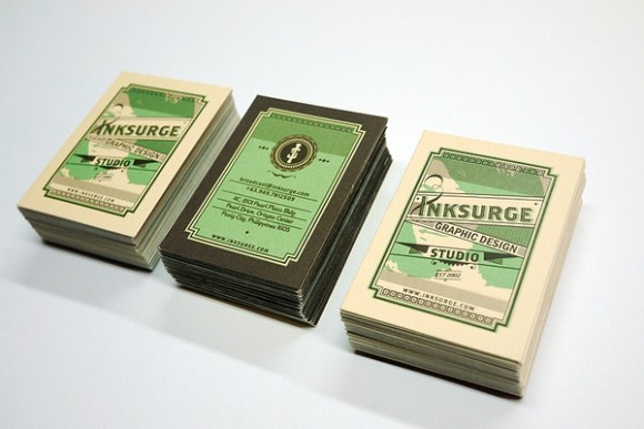 letterpress  Business card design 16