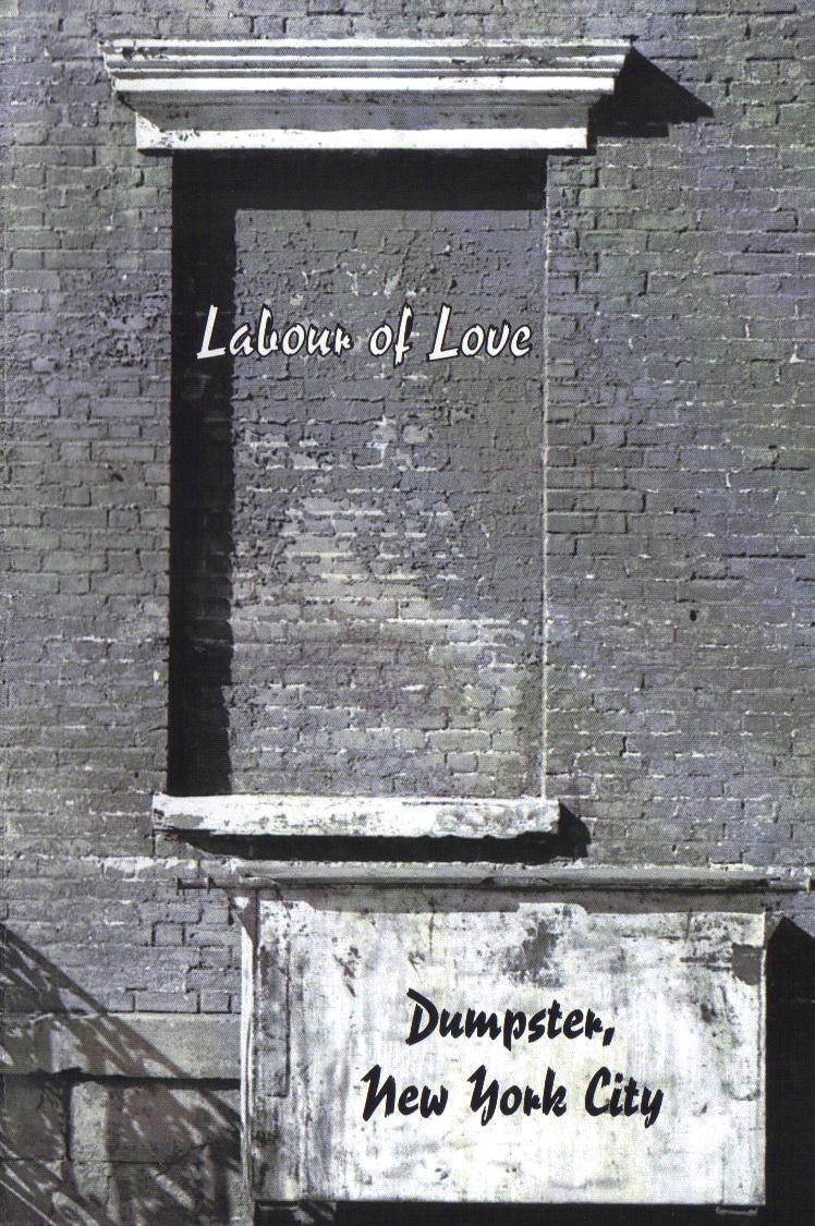 Brandon Pitts, Poetry, Labour of Love poetry magazine, Norman Cristofoli, Lot poem