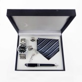 Set-of-watch-neck-tie-pen-and-cufflinks gifts items