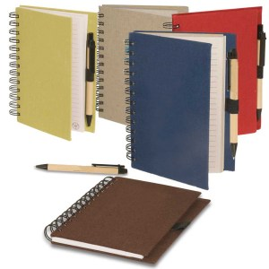 Eco friendly notebook with pen 02