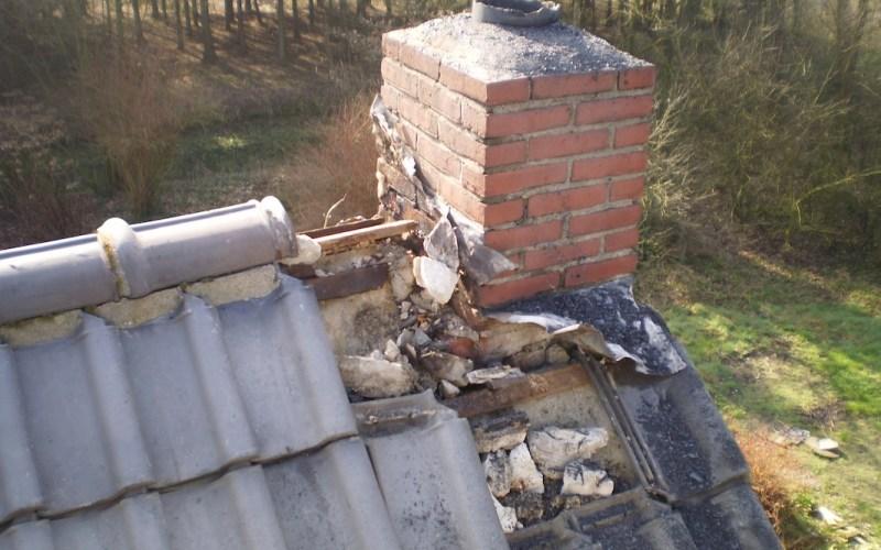 Schoorsteenbrand Kruisstraat 134 Nederweert-eind