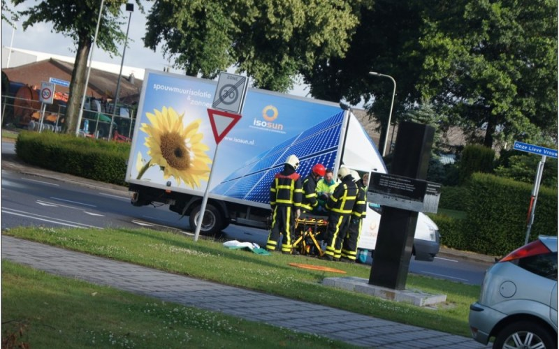 Ongeval kruising Onze Lieve Vrouwestraat Ospel