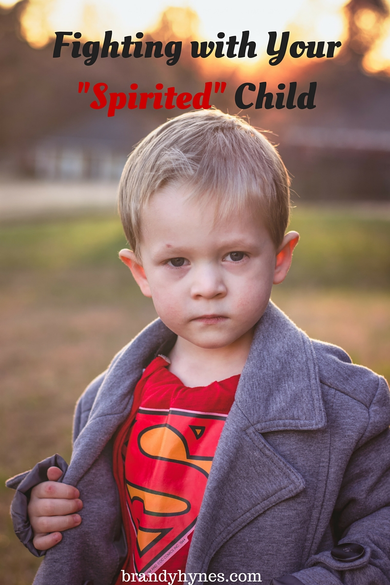 Fighting with Your Spirited Child