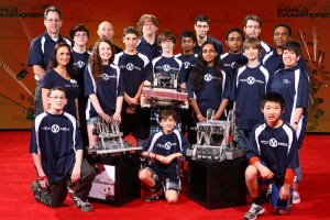 Vexmen Attendees at the 2013 Vex World Championship in Anaheim, CA - teams 80R, 81M, and 90C