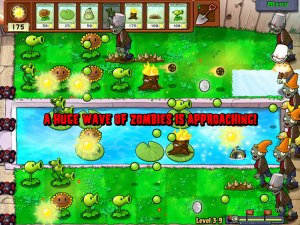 Plants Vs. Zombies Screen 1