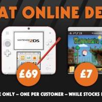 Nintendo 2DS £69, Killzone Shadow Fall £25, COD Ghosts £25 - PS4 Great Online Deals