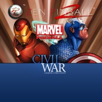 Zen Pinball Marvel Civil War Table
